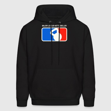 Major league kettlebeller - Men's Hoodie