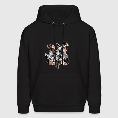Handmade Artwork Designs in Digital work - Men's Hoodie