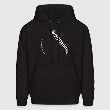 Baseball and softball seams - Men's Hoodie