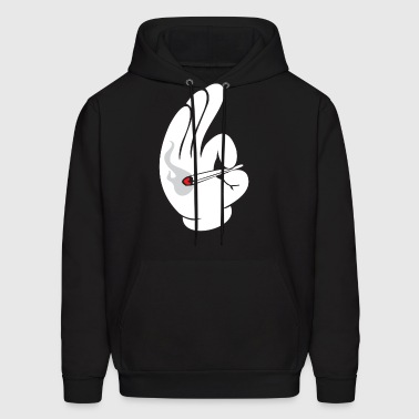 cartoon_smoke_dope - Men's Hoodie