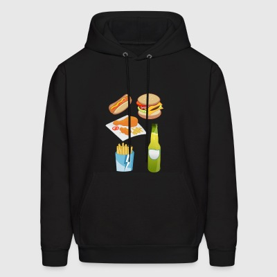 french fries pommes frites fastfood fast food8 - Men's Hoodie