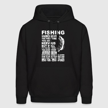 Fishing Equals Happiness Shirt - Men's Hoodie