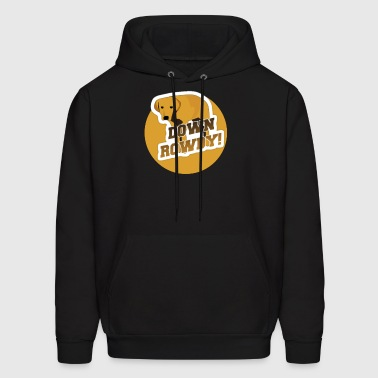Down Rowdy the Dog - Men's Hoodie