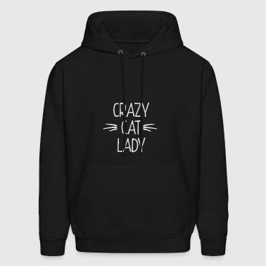 CRAZY CAT LADY - Men's Hoodie