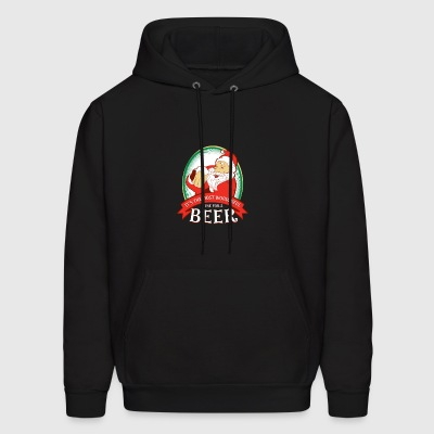 IT S THE MOST WONDERFUL TIME FOR A BEER - Men's Hoodie