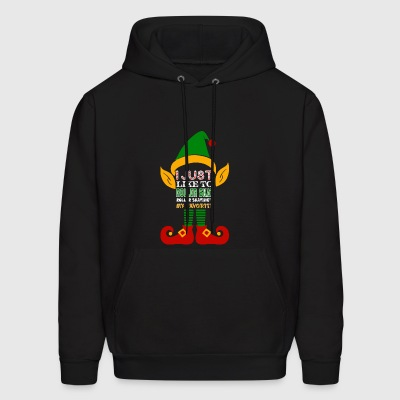 I Just Like Roller Skat Roller Skating My Favorite - Men's Hoodie