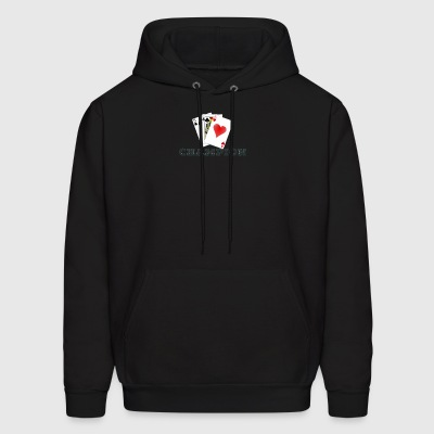 Card Game 45s Champion. - Men's Hoodie