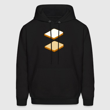 White Bread Wheat Bread - Men's Hoodie