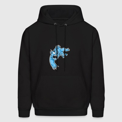 sea monster - Men's Hoodie