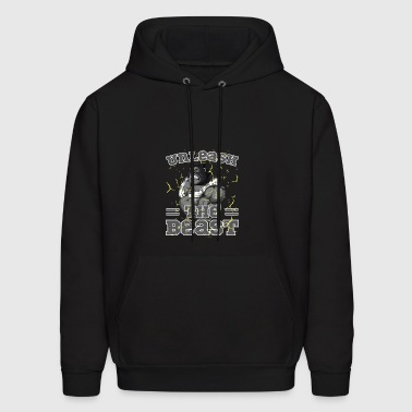 Unleash The Beast Bodybuilder Gorilla Character - Men's Hoodie