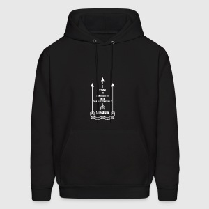 stand in solidarity with Charlottesville VA - Men's Hoodie