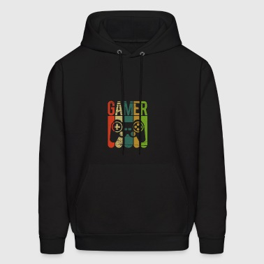 Gamer Game Controller - Men's Hoodie