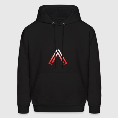 Arise Red Faded - Men's Hoodie