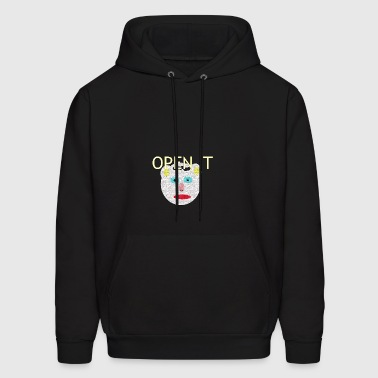 OPEN IT - Men's Hoodie