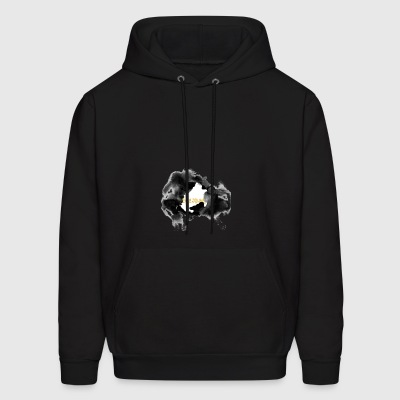 Eclipse, Total Eclipse, Total Solar Eclipse - Men's Hoodie