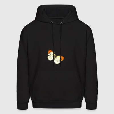 Butterfly Illustration - Men's Hoodie
