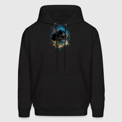 Bear grizzly - Men's Hoodie