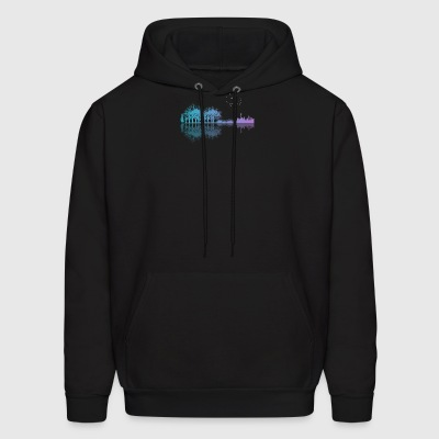 Guitar in the city - Men's Hoodie