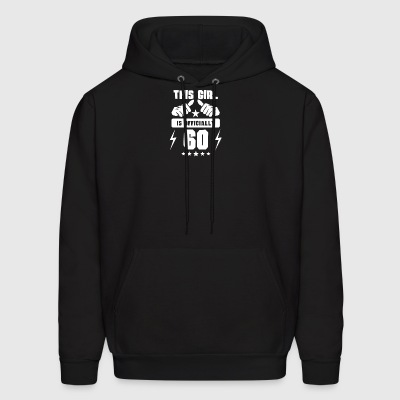 This Girl Is Officially 60 - Men's Hoodie