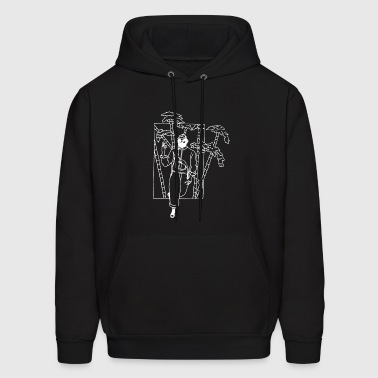 Urban style out of a bamboo forest - Men's Hoodie