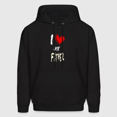 I love my FATHER - Men's Hoodie