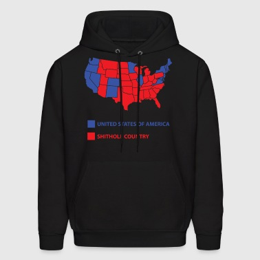 Shithole contry - Men's Hoodie