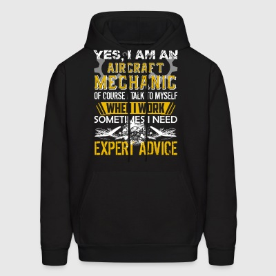 Aircraft Mechanic Shirt - Men's Hoodie