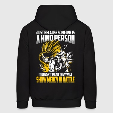 super saiyan gohan show no mercy in battle - Men's Hoodie