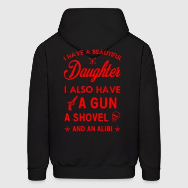 Beautiful Daughter - Men's Hoodie
