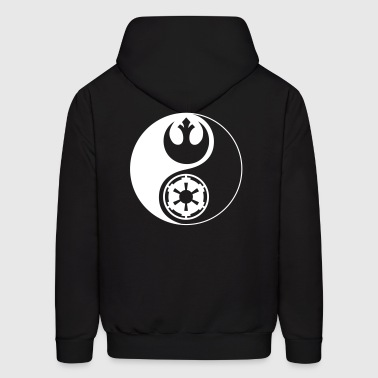 Star Wars Yin Yang 1-Color Light - Men's Hoodie