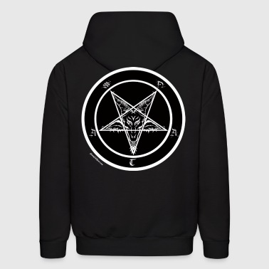 Sigil of Baphomet Pentagram - Men's Hoodie