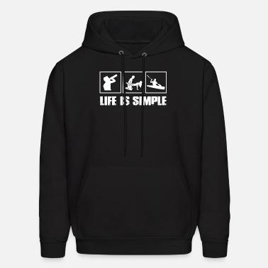 O-zuna Singer Mens Graphic Hoodies Hooded Sweatshirts Fashion Pullover Black