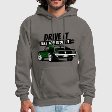 Drive it - Fastback green - Men's Hoodie