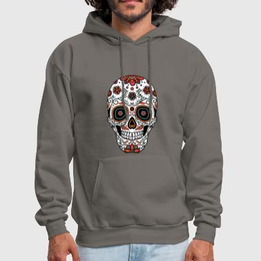 Sugar Skull - Day of the - Men's Hoodie