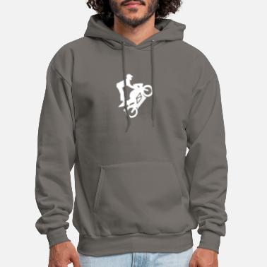 Motorcycle Rather Be a Rider Custom Bike Hooded Graphic Hoodie for Men