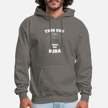 This Guy Loves His Kira Valentine Day Gift - Men's Hoodie
