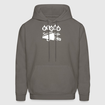 Blood Sweat Yell Cheer - Men's Hoodie