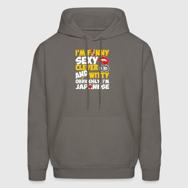 Im Funny Sexy Clever And Witty Im Japanese - Men's Hoodie