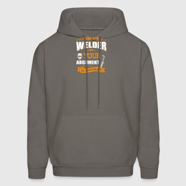 I Am The Welder T-Shirts - Men's Hoodie