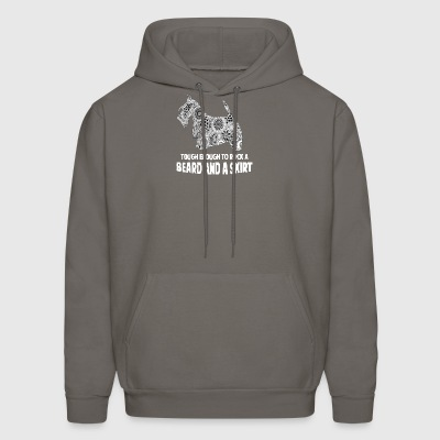 beard and a skirt - Men's Hoodie