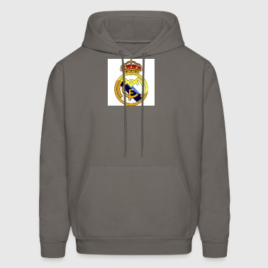 real-madrid-hd-logo_Fotor - Men's Hoodie