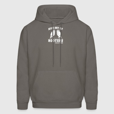 NICE SET OF HOOTERS YOU GOT THERE - Men's Hoodie