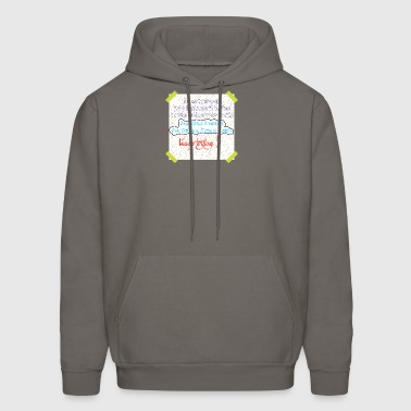 motivation rain - Men's Hoodie