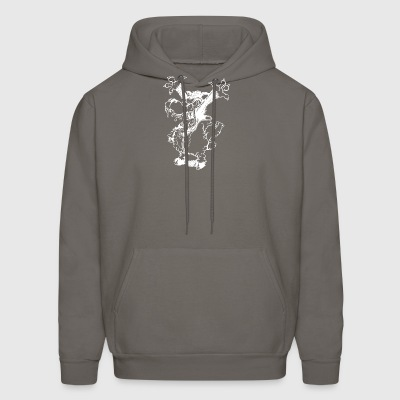 catchaa_funny_wolf_in_sheep_white - Men's Hoodie