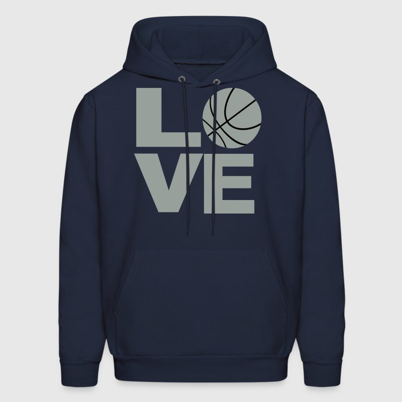Love and Basketball - Men's Hoodie