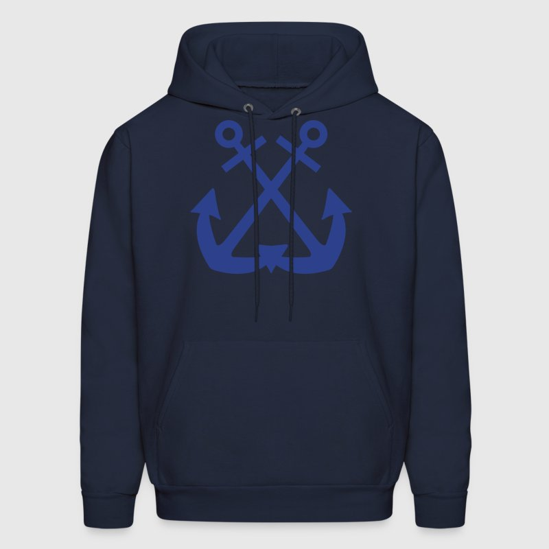 Double Anchor - Men's Hoodie