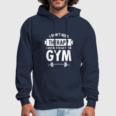 Therapy - Gym - Men's Hoodie