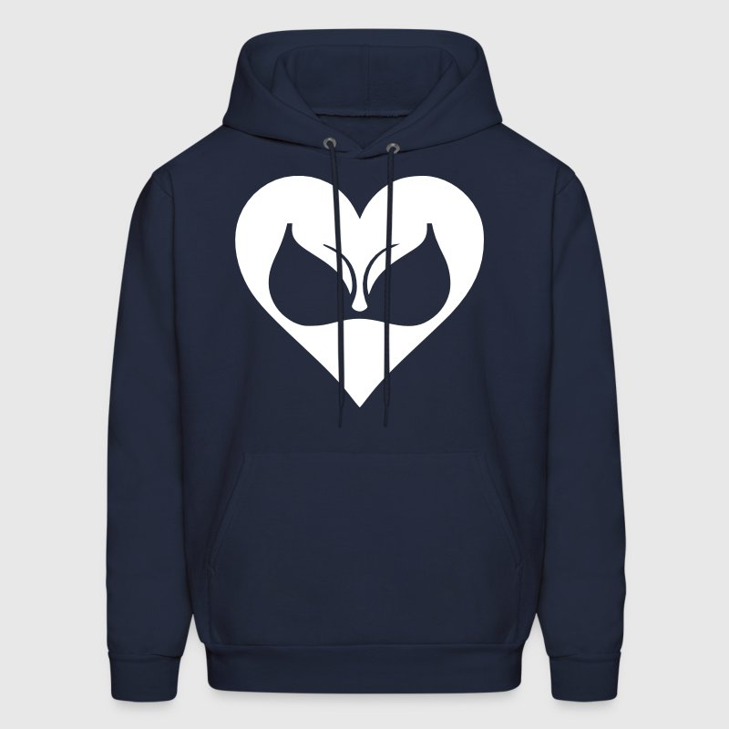 I Love Boobs - Men's Hoodie
