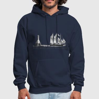 Peacemaker in Harbor Grey - Men's Hoodie