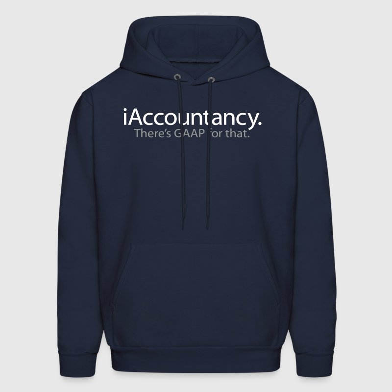 iAccountancy - There's GAAP For That - An iSpoof Design - Men's Hoodie